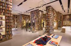 Literary Retail Takeovers
