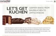 German Baking Infographics