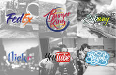 Hand-Rendered Logo Illustrations