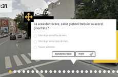 Interactive Driving Practice Tests