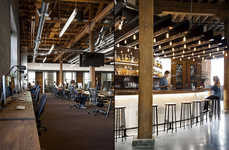 Cafe-Inspired Tech Offices
