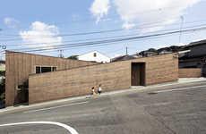 Sloped Japanese Homes