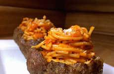 Spaghetti Meat Bowls