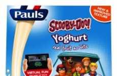 Interactive Yogurt Packaging