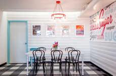 Retro Bakery Interiors