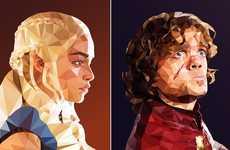 Geometric Fantasy Portraits