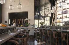 Antiquated Restaurant Interiors