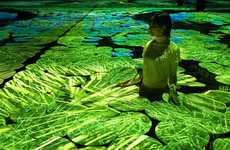 Interactive Rice Fields