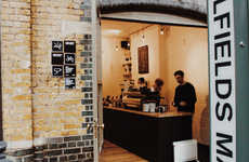 Rustic Coffee Bar Outposts