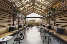 Atmospheric Timber Restaurants