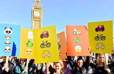 Emoji Protest Signs
