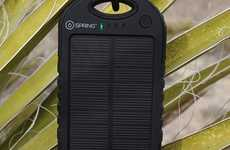 High-Tech Solar Chargers