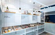 Marina-Inspired Seafood Shops