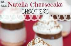 No-Bake Cheesecake Shooters