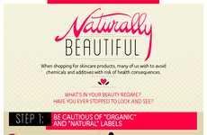 Natural Skincare Infographics