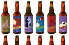 Disney Beer Labels