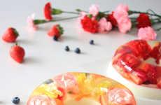 Creamy Flower-Filled Treats