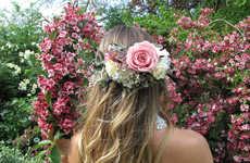 DIY Wedding Headdresses