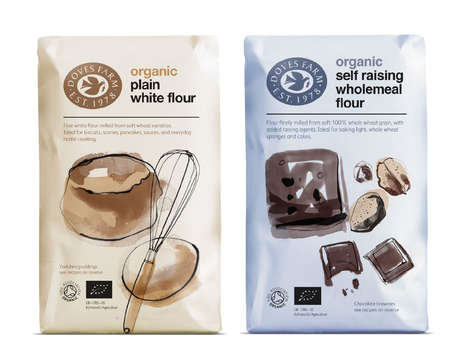 Artisanal Flour Packaging