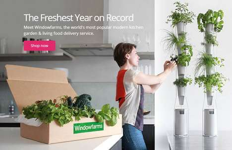 Aeroponic Subscription Services