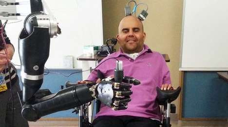 Mind-Controlled Prosthetic Arms
