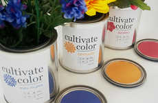 Paint Can Gardening Pots