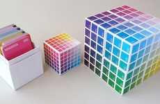 Color Swatch Card Decks