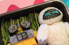 Cartoon Sushi Creations