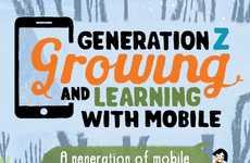 Gen Z Mobile Infographics