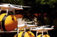 Beer-Delivering Drones