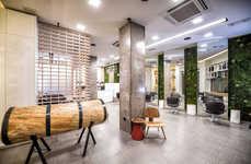 Modern Rainforest Salons