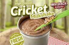 Cricket-Laced Milkshakes