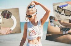 Flexible Folding Sunglasses