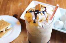 Alcoholic S'mores Coffee
