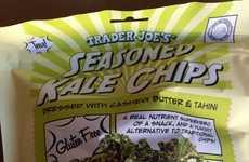 Convenient Seasoned Kale Chips
