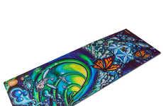 Art-Inspired Yoga Mats