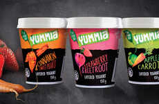 Veggie-Infused Yogurts