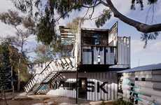 Shipping Container Children's Centers