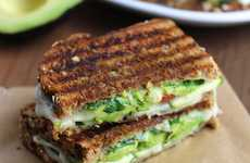 Veggie-Packed Grilled Cheeses