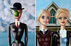 Female-Empowering Doll Art