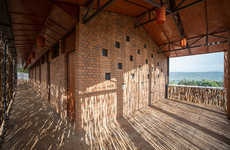 Eucalyptus-Enclosed Houses