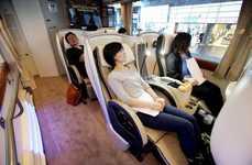Spacious Luxury Trains