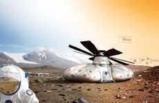 Futuristic Martian Settlements