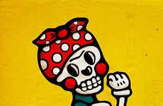 Quirky Skull Illustrations
