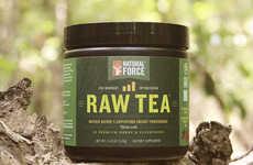 Pre-Workout Raw Teas