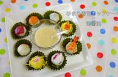 Cupcake-Inspired Sushi