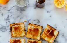 Citrus Brûlée Bars