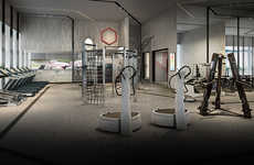 Luxurious High-Tech Gyms