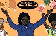 Historical Food Culture Illustrations
