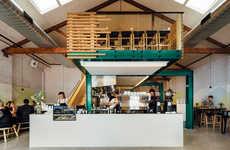 Repurposed Minimalist Cafes